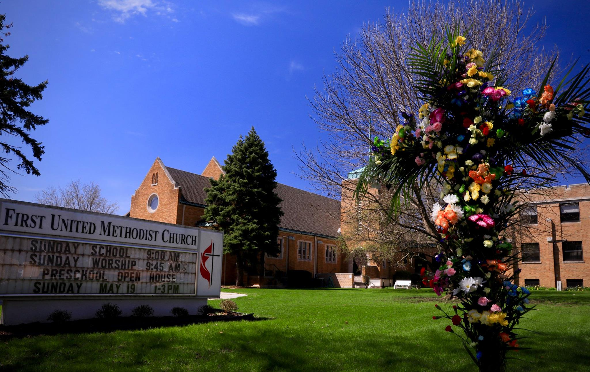 FUMC at Easter